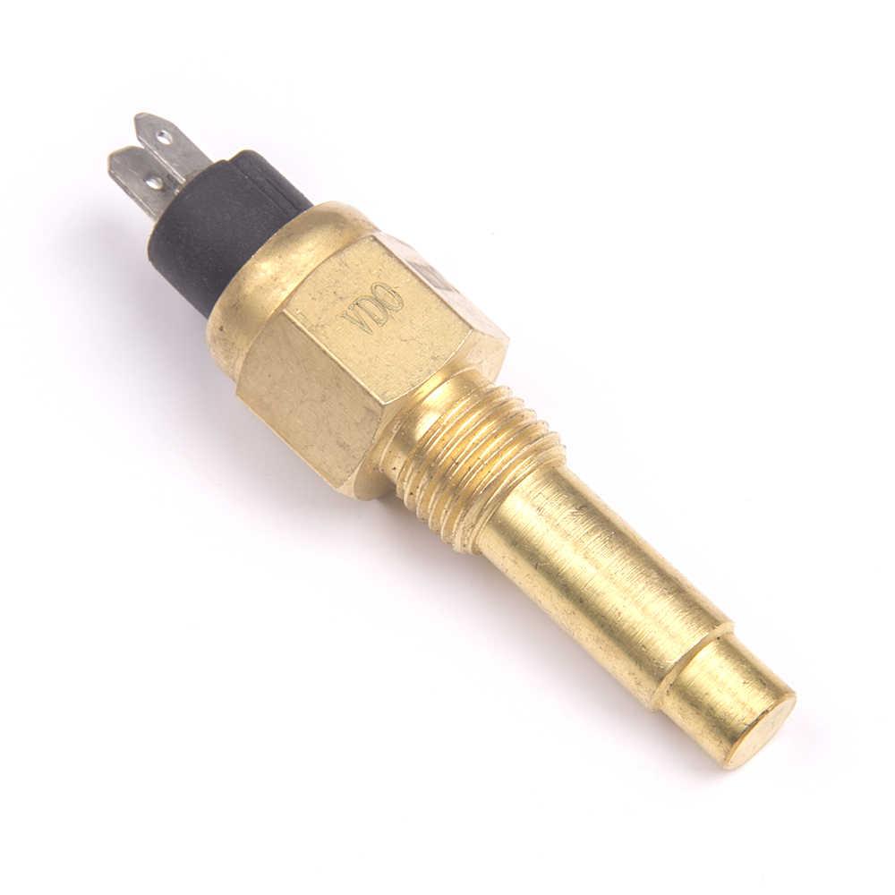 14 мм Датчик VDO дизельный двигатель Датчик температуры воды 120C сигнализация длинный тип деталь генератора два контакта Электрический Индуктивный штекер