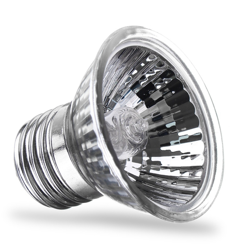 AC220V 25/40/50/60/75W LED Lamp Bulb E27 UVA UVB Pet Heat Lamp Reptile Pet Terrarium Brooder LED Light Bulb Warm White
