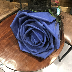 Image 2 - Large Foam Roses with Stems Giant Flower Head Birthday Gift  Valentines Day Present Wedding Backdrop Decor Party Supplies