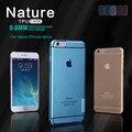 Nilkin originais TPU 0.6mm Ultra fino Casos de Telefone Capa para o iphone 6 6 s Mais Caso Capa de Silicone com Pacote de varejo