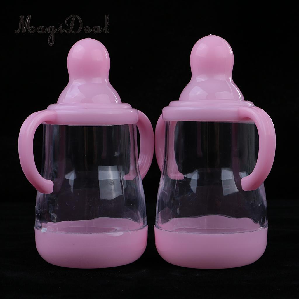 10 шт. Кормление бутылки Коробки конфет с ручкой Baby Shower Подарки для гостей ...