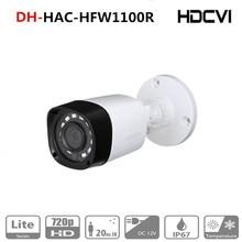 الأصلي DH النسخة الإنجليزية HAC HFW1000R 1MP HDCVI IR كاميرا مصغرة الذكية IR IP67 720P HD CCTV لايت سلسلة DH HAC HFW1000R