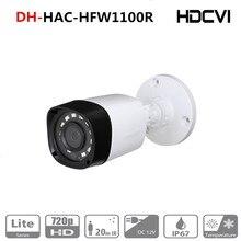 DH caméra de surveillance intelligente Bullet HDCVI IR IP67 HAC HFW1000R P, version anglaise 720, CCTV Lite série DH HAC HFW1000R