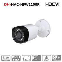 Original DH english version HAC HFW1000R 1MP HDCVI IR Bullet Camera Smart IR IP67 720P HD CCTV Lite Series DH HAC HFW1000R