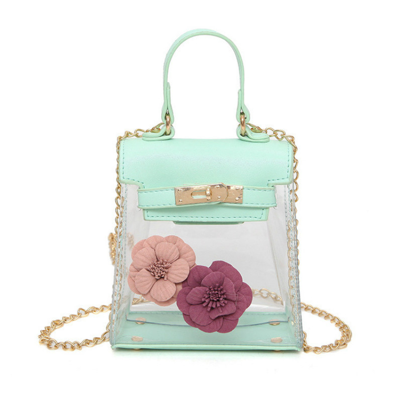 Vbiger новейшие модные женские туфли Сумки желе сумка новый женский Сумки на плечо с цветами Сумки через плечо сумки прозрачный для девочки