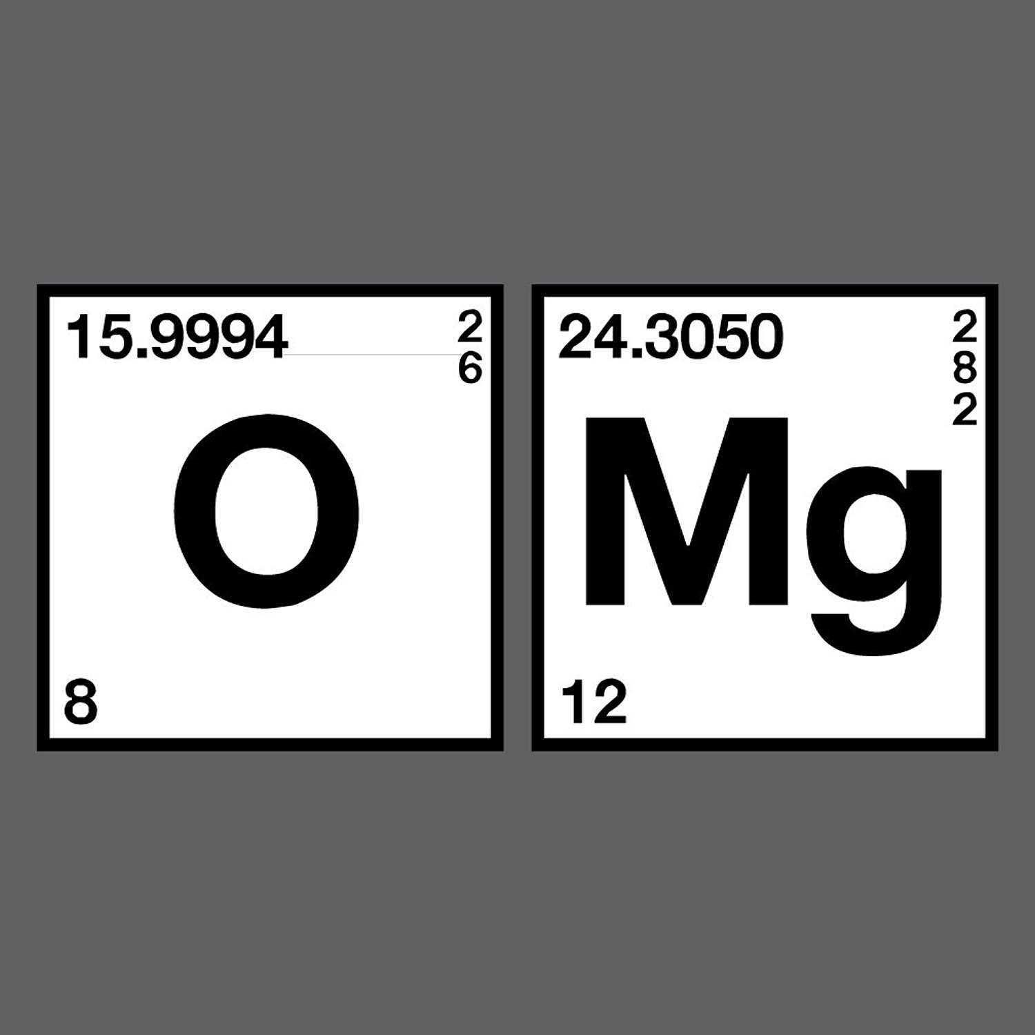 Gildan mens tshirt oxygen magnesium omg periodic table science gildan mens tshirt oxygen magnesium omg periodic table science chemistry funny t shirt in t shirts from mens clothing accessories on aliexpress gamestrikefo Gallery