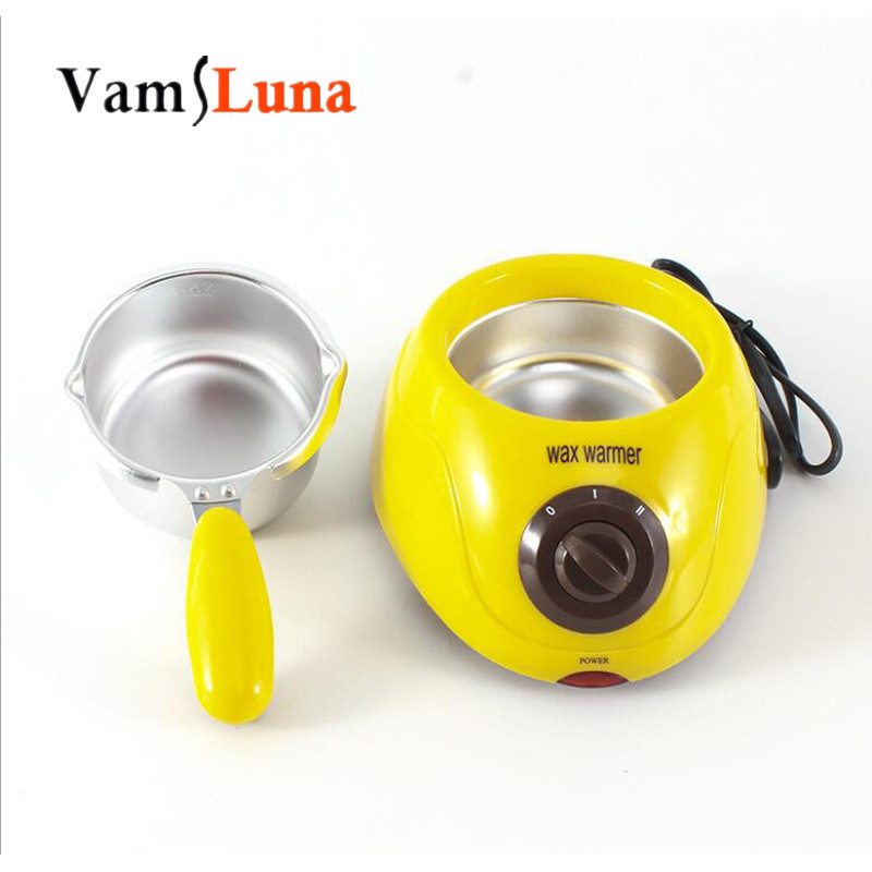 250ML Mini Portable Wax Warmer Pot  SPA Paraffin Therapy Hair Remover  - Multi Function Chocolate And Butter Heater And 100g Wax