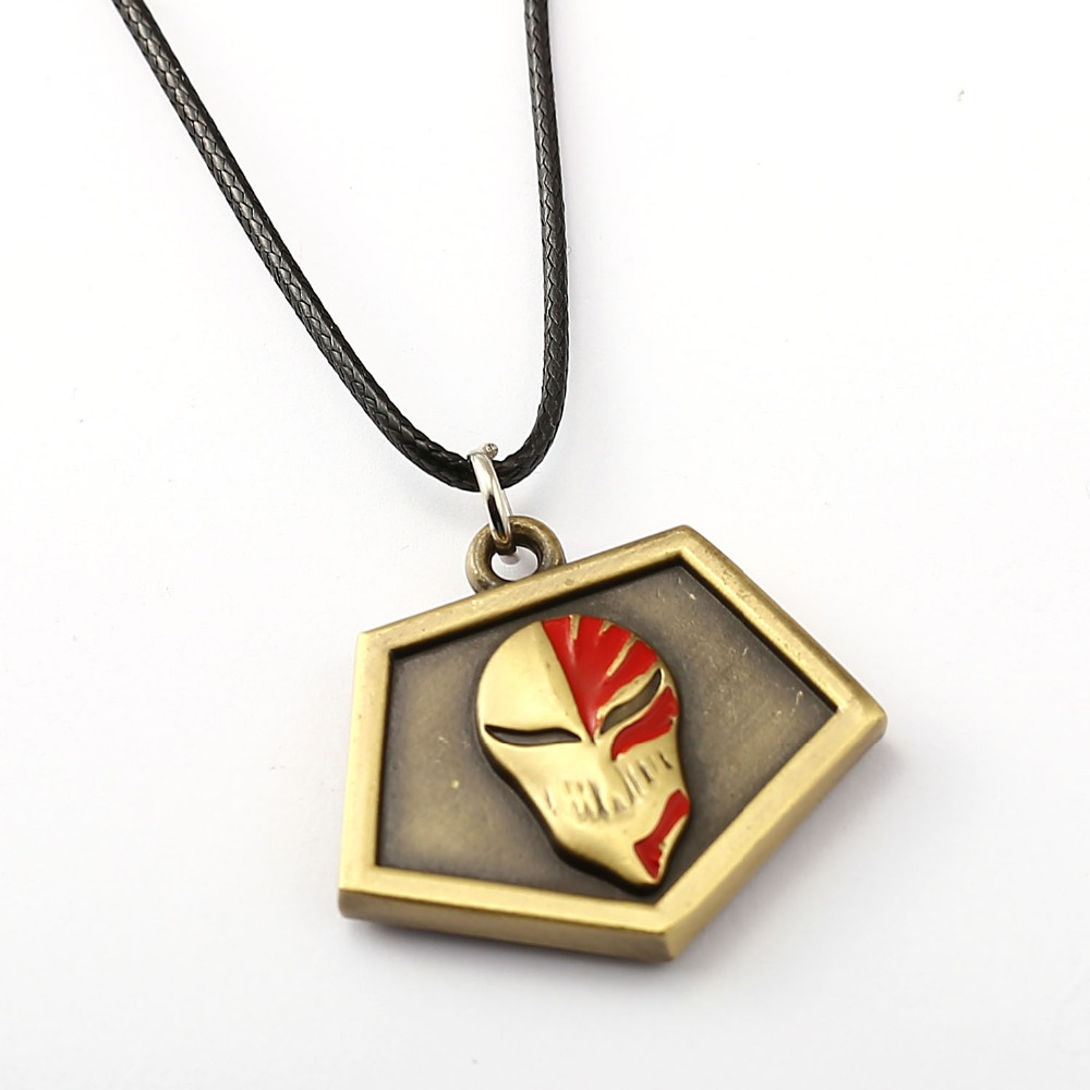 MS BLEACH Choker Necklace Kurosaki Ichigo Pass card Pendant Men Women Anime Accessories