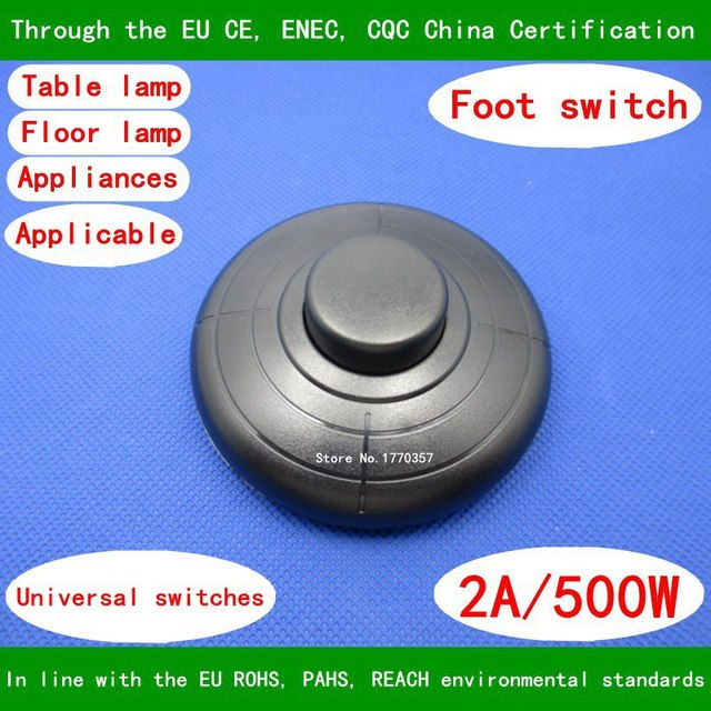 315 foot switch table lamp floor lamp switch foot switch Lock / no ...