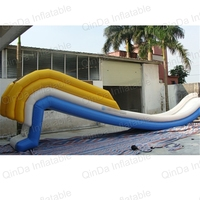 Freestyle Cruiser Giant Inflatable Water Slides Turns your Yacht into a Waterpark Adult
