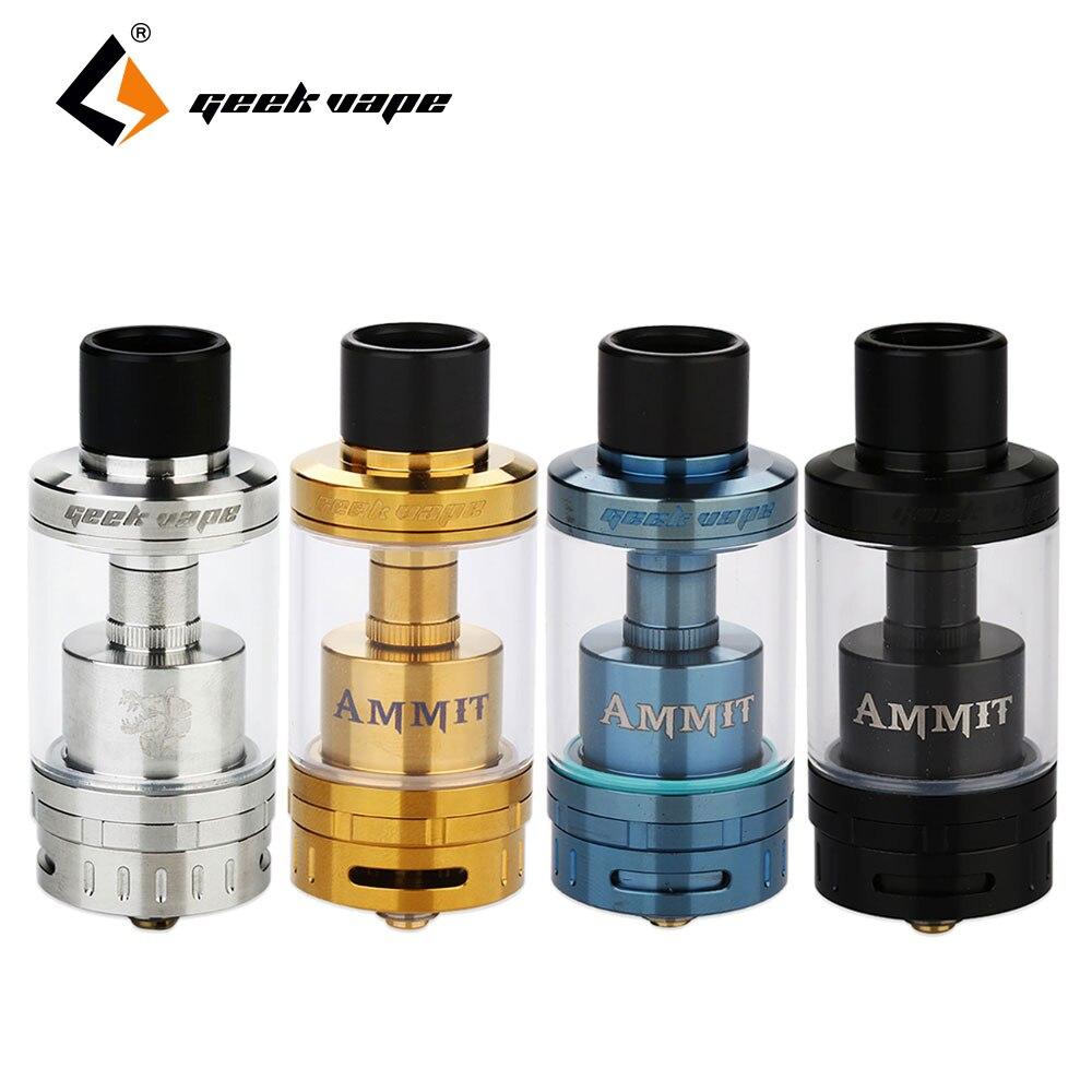 100% Original GeekVape Ammit 25 RTA 2ml/ 5ml Atomizer Enhanced 3D Airflow Upgrade Ammit RTA Huge Vape For Electronic Cigarette