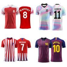 d9b317ba8d1 Men adult Boys Soccer jerseys custom Print Training game Jerseys Football  Shirts Professional design Custom name