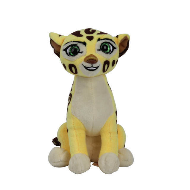 Original Brand Ty 15cm Toys The Lion Guard Cheetah Leopard Plush