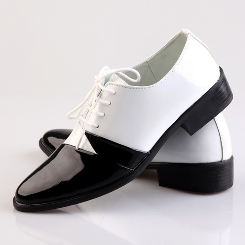 fashion mixed colors style performance shoes black and