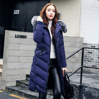 Thicken Women S Parkas Winter Jacket Women X Long Down Cotton Jackets Wadded Jacket Padded Fur