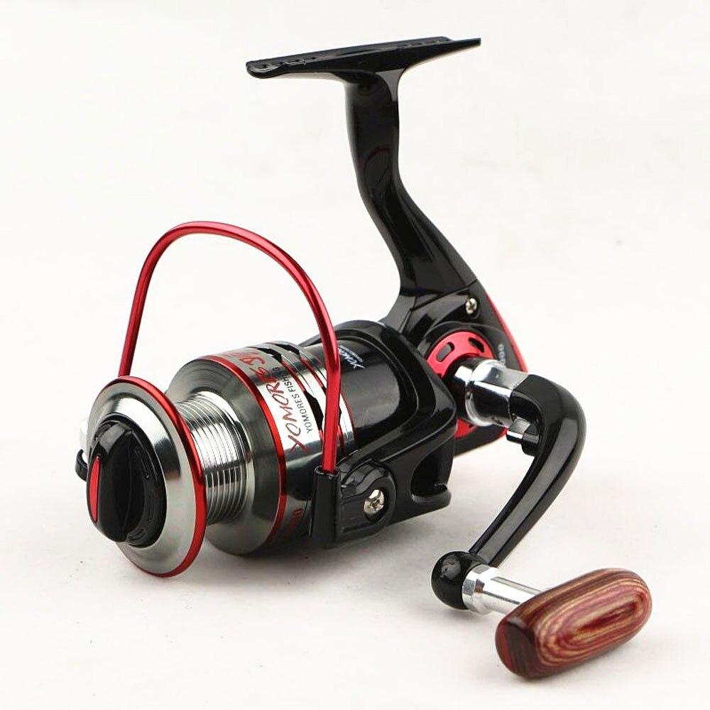 Mer moulinet de pêche 2016 nouveau 11 BB Bobine En Aluminium Spinning pêche à la mouche bobines Anti corrosion de l'eau de mer moulinets pour la pêche tiges