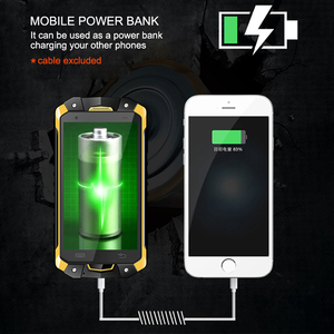 Image 2 - צבאי תעשיית V18 Santong IP68 אבק הוכחה מים סתיו 4.5 אינץ מסך גדול 4G חומרה פנימי Smartphone