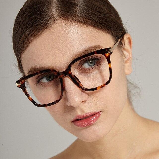 7156f1ec826 Oversized Retro Reading Glasses Spring Hinge Tortoiseshell Square Frame Readers  Men Women Eyewear frame NX