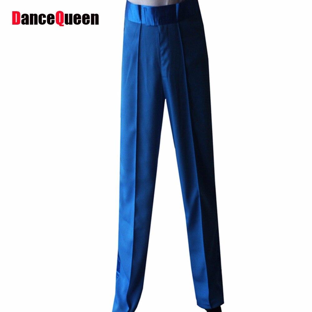 Pantalon De Danse latine Pantalon Hommes Garçon Bleu Jaune Rouge Noir Mens  Pantalons De Danse De Salon Cha Cha pantalon Vêtements ACCEPTER TAILLE ... 6535f70e2f1