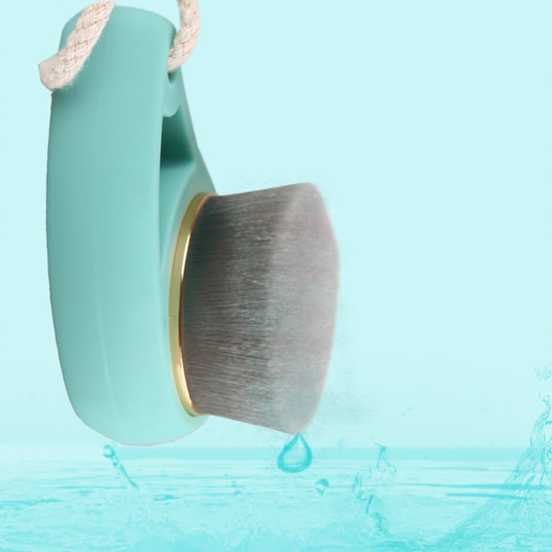 1PCS Deep Cleaning Face Care Cleaner Face Care Soft Carbon Fiber Facial Cleansing Brush Scrub Exfoliating Face Brush electric face brush spa skin care massage deep clean multifunctional facial cleansing brush daily cleaning exfoliation