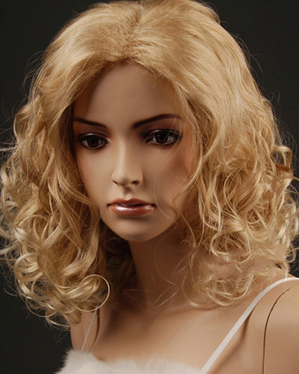 Feshfen natural short curly hair blonde highlights wigs rinka feshfen natural short curly hair blonde highlights wigs rinka haircut middle parting hair wigs synthetic kanekalon hair wigs on aliexpress alibaba pmusecretfo Images