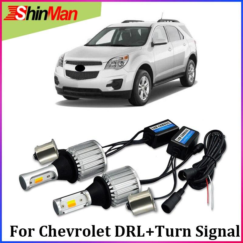 ShinMan 30W Car LED Turn Signals Light drl led daytime running light drl turn light daylight For Chevrolet Niva Lanos AVEO Spark