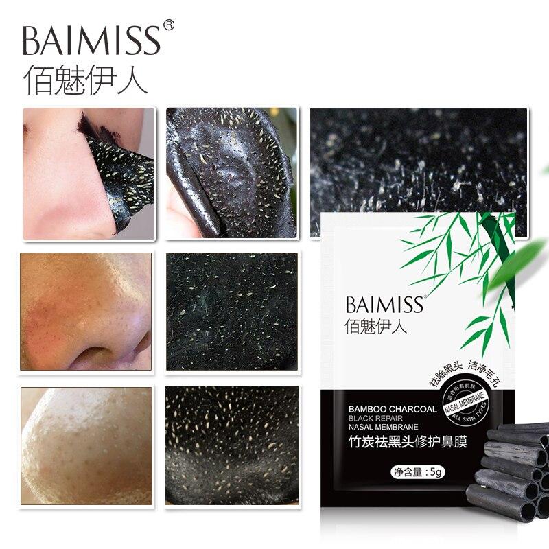 baimiss black head remover nose masks peeling black mask acne treatment face skin facial care. Black Bedroom Furniture Sets. Home Design Ideas