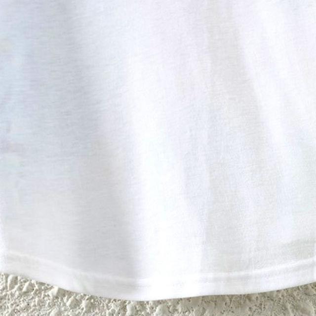 Cotton T-Shirt Women Short Sleeve  Causal loose Tie Unicorn