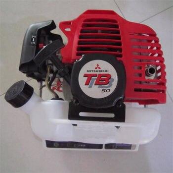 Mitsubishi TB50 gasoline engine powered motor 52CC 2 stroke brush cutter trimmer tb43 gasoline engine powered mitsubishi 42 7cc 2 stroke