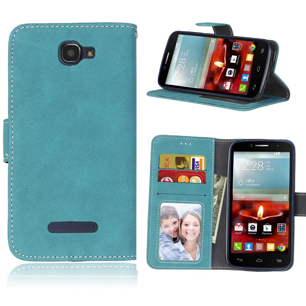 new product f4525 9085b US $3.98 20% OFF|Case For Alcatel One Touch Fierce 2 7040t 7040n Pop Icon  A564c Phone Cases Wallet Style Cover Shell With Stander Cards Cover Bag-in  ...
