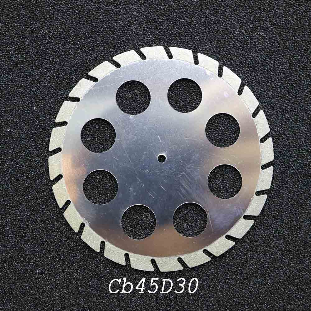 Dental Lab Diamond Double Sided Cutting Disc For Dental Cutting Plaster Disc Wheel Dental Lab Tool 45mm*0.30mm