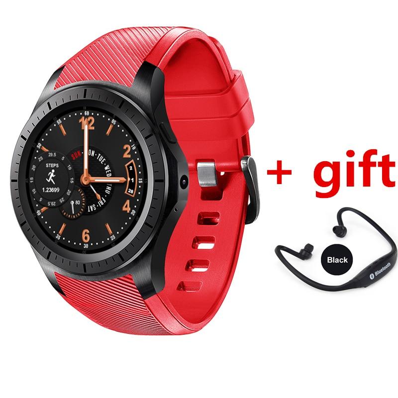imágenes para Android 5.1 smart watch dm368 plus soporte podómetro del ritmo cardíaco 3g wifi gps google play pk samsung watch xiaomi kw88 smartwatch