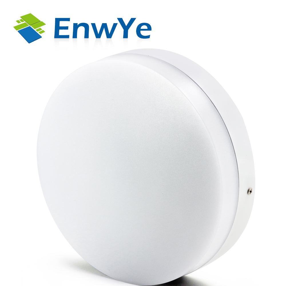 EnwYe Modern led ceiling lights for Hallway bathroom round aluminum Acryl High brightness 220V 10W 15W 20W 30W 40W LED lamp цена 2017