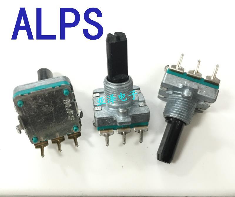 Цифровой потенциометр ALPS Alps Тип EC16, кодер 2 шт./лот, 24 импульсных точки, без позиционирования, длина вала 20 мм