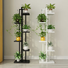 Standing flower shelf .Living room & balcony Plant shelf . flower pot stands with wood plant(China)