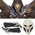 Punto Nuevo Juego Overwatch Reaper Cosplay Apoyos Cosplay Pistolas Dobles Máscara OW Pistola Arma Aficionados a Los Juegos