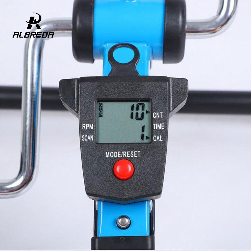 ALBREDA multifonction Mini exercice vélo jambe rééducation formateur machine pas à pas perdre du poids équipement de fitness pour la maison - 6