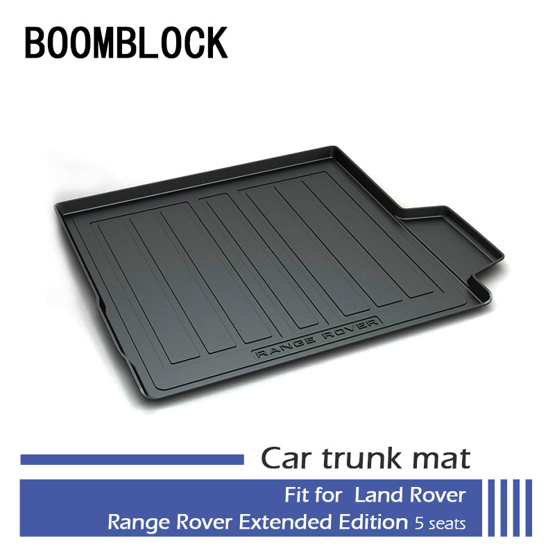 BOOMBLOCK Car Special Trunk Floor Foot Mat Pad For Land Rover Range Rover Executive Extended Edition 5 Seats 2017 2016-2013 gear pump cbn e316l left rotation with flange no end oil outlet splined long shaft of dongfeng tractor