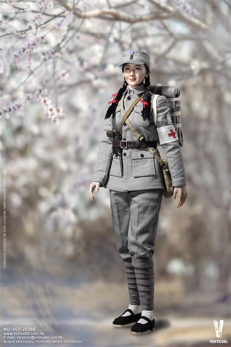 full set figure 1 6 Scale 18 G A of the National Revolutionary Army MEDIC female soldier figure for funs collection toys in Action Toy Figures from Toys Hobbies