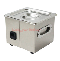 RY PS 08T 1.3 L stainless steel jewelry/glasses/watch/false teeth/Razo ultrasonic cleaning machine 1 30 minutes timer cleaner