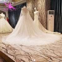 AIJINGYU Wedding Dress Vintage Gowns White Lace Couture Sexy Cheap Buy 2019 Long Sleeve Bridal Gown Frocks For Wedding