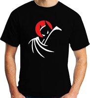 Ngắn Tay Vòng Cổ T Áo Khuyến Mãi Batman Loạt Phim Hoạt Hình Logo T-Shirt (XXL)
