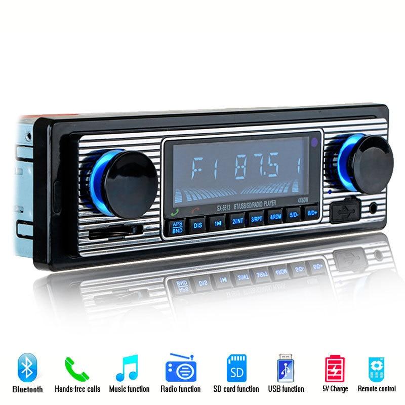 New Monochrome Screen Car Bluetooth Radio Vehicle Integrated MP3 Player Car CD Player DVD