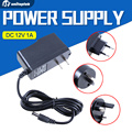 Qualified AC 110-240V To DC 12V 1A Power Supply Adapter For CCTV,EU/US/UK/AU Plug