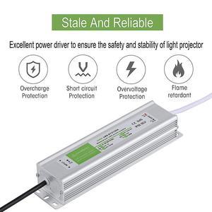 Image 3 - IP67 Waterproof LED Driver 50 60Hz 10W 30W 50W 60W 100W 120W 300W LED Power Supply AC90 265V Lighting Transformers For LED Power