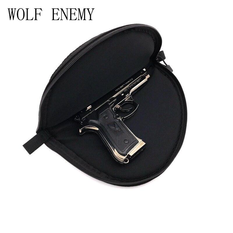 Portátil táctico BK revólver airsoft pistola Tapetes arma llevar ...