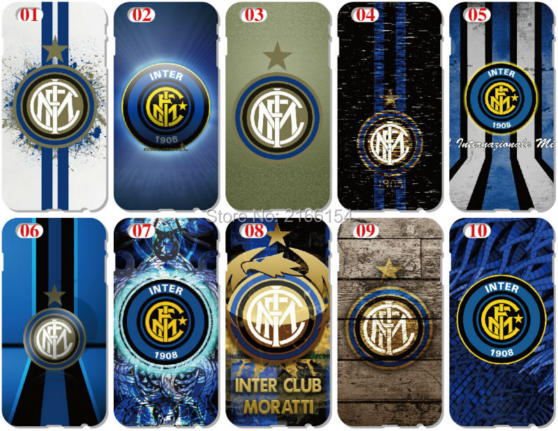 Print Inter Milan Fooball Cover For HTC one X M7 M8 Mini M9 Plus M10 E8 A9 Desire 510 eye M910x Phone Case Capa Coque Fundas