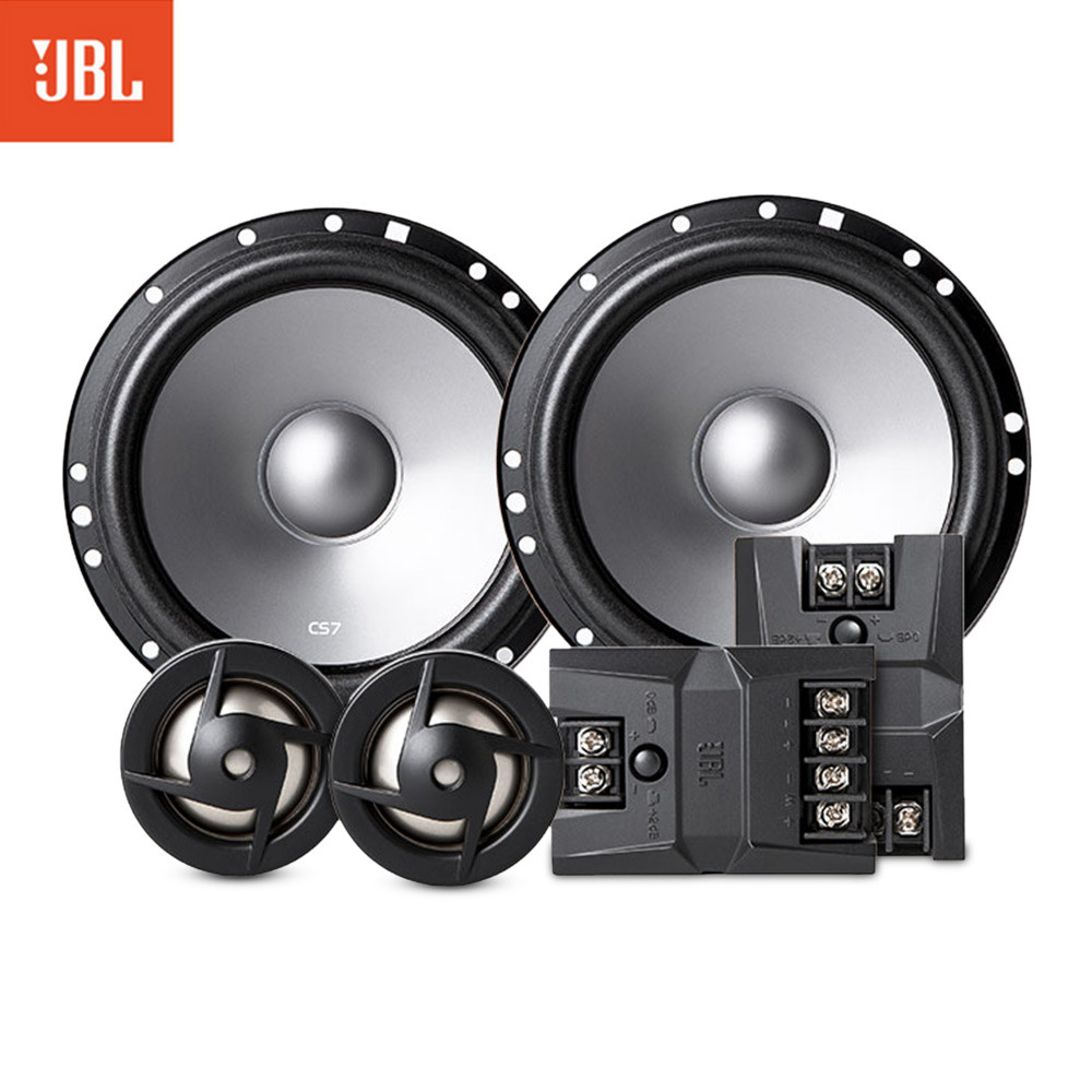 JBL CS760C Pair of 6.5 inch Professional Fashionable Coaxial Speakers system 50 - 50W Car Speaker Coaxial Two-way Tweeter Woofer kunfu kf x6 25mm tweeter component speakers for car audio system black pair