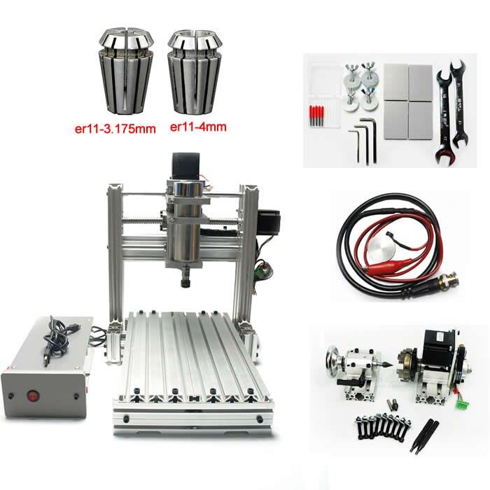 3020 Cnc Engraving Machine Pcb Milling Router 2030 USB Port 400W