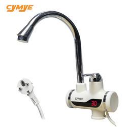 Cymye кухонный водонагреватель HY30 мгновенный кран с электронагревателем с светодиодные цифровые лампы